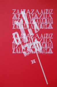 az greek angles letterpress Art Bridget Murphy Design Printmaking