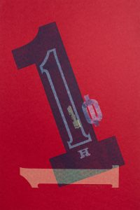 No1 letterpress Art Bridget Murphy Design Printmaking