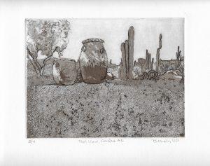 Carefree Arizona Art Bridget Murphy Design Printmaking